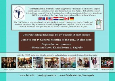 09.09.2014. IWCZ General Meeting