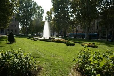 THE PARKS OF ZAGREB